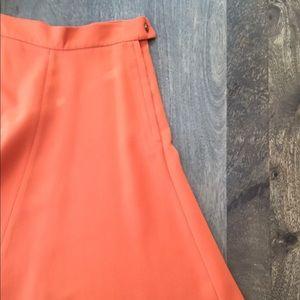 H&M Skirts - Orange high waisted skirt